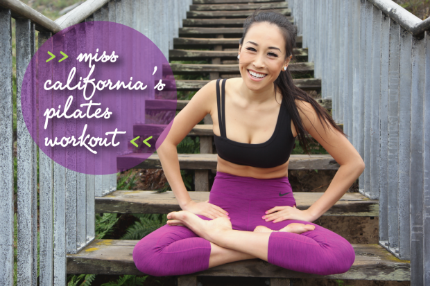 Miss California Crystal Lee And Core Arts Pilates Featured